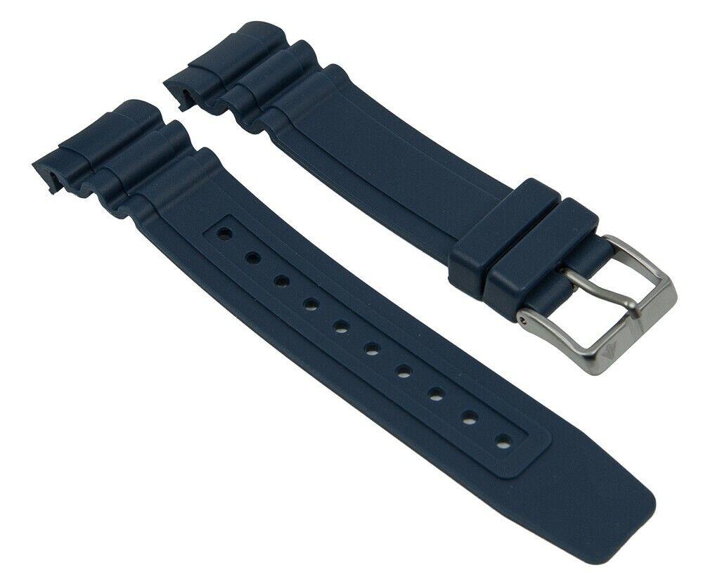 Ersatzband Kunststoff dunkelblau passend zu Citizen Promaster Taucheruhr BN0100