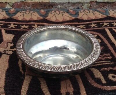 Silver Plated Bowl. Tray. Planter. Plant pot.