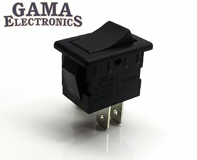 Mini 10 Amp Rocker Switch Single Pole Single Throw Spst Off-on - 001-bb