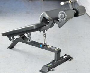Free Shipping New eSPORT Adjustable Decline Bench with Spring Assist Adjustments