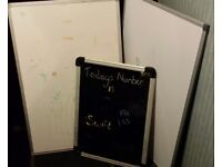 2 X WHITE BOARDS & 1 X BLACK if reading this they will still be for sale
