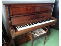 Carol Otto 1930s Upright Rosewood Piano, Belfast
