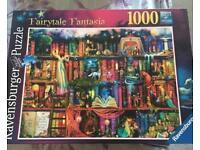 Ravensburger 1000 puzzle - fairytale Fantasia