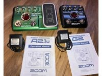 ZOOM Guitar effects pedals (Electric and Acoustic)