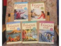 Famous five set 1 - 5 (5 books)