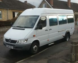 Modern Mercedes Sprinter Motorhome, 411cdi, 2006 with only 89000 miles. Unique Wheelchair Access,