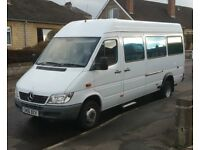 Unique Wheelchair Access, Modern Mercedes Sprinter Motorhome, 411cdi, 2006 with only 85000 miles.