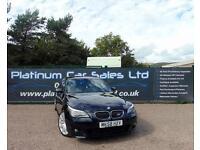 BMW 5 SERIES 535D M SPORT (black) 2008