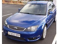 Ford mondeo ST TDCI blue