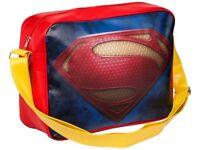 Superman Shoulder Messenger Bag Retro Deluxe Marvel Heroes