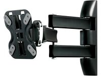 """ROSS NEO Triple Arm LNTA100 Full Motion TV Wall Mount Black 13"" 14"" 15"" 16"" 17"" 18"" 19"" 20' 21"""