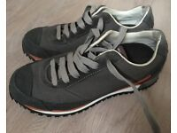Women's Mammut Raichle Grey Walking Trainers size 4