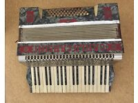 Accordion from Spillers of Cardiff