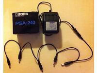 Boss PSA-240 9v AC Adapter / Power Supply