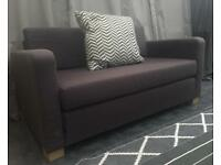 Ikea grey 2 seater sofa bed