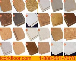 Get rid of the damp and chill with cork flooring and keeping warm and dry basement Walking Comfort, Sound absorption,