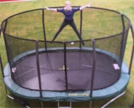 8ft X 11.5ft oval trampoline