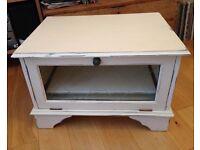 Upcycled shabby chic TV cabinet