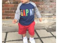Age 2-3 red Next shorts