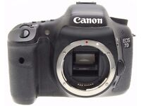 Canon 7D body for parts or repair