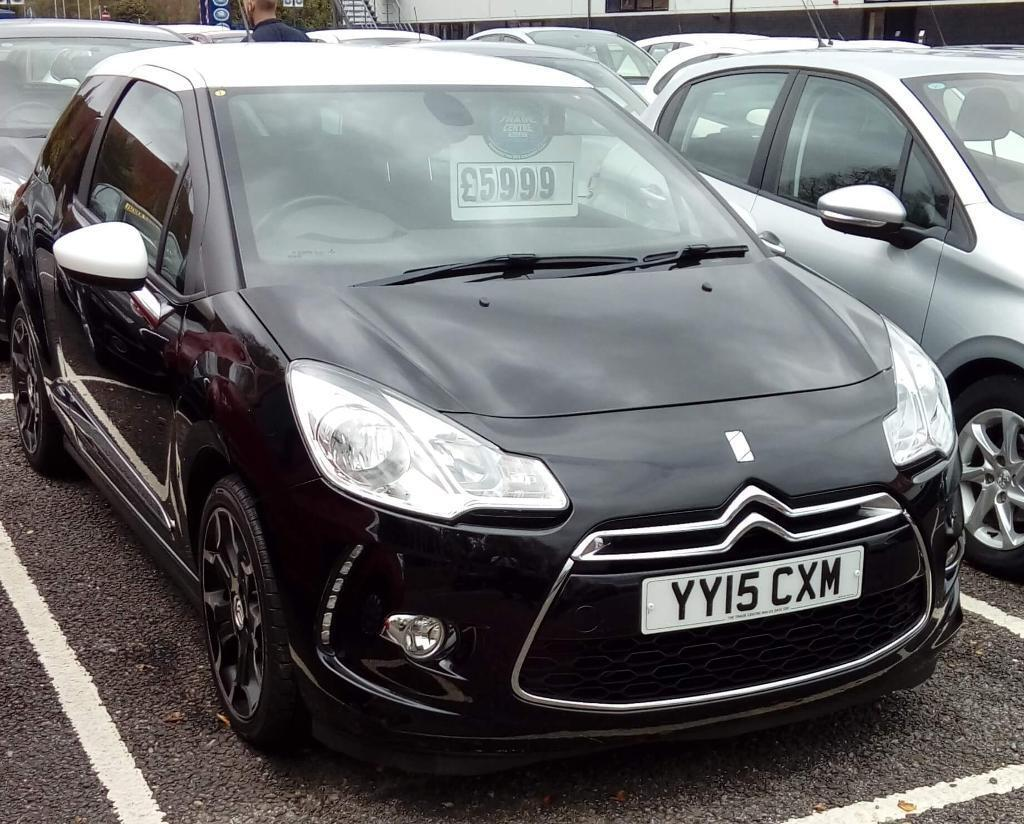 citroen ds3 1 6 e hdi airdream dstyle plus black 2015 in nelson merthyr tydfil gumtree. Black Bedroom Furniture Sets. Home Design Ideas
