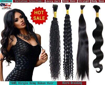 Best Quality Bulk Hair REMY Virgin Human Hair Micro Braiding Braids