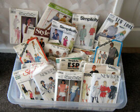 Large Lot of assorted sewing patterns two for £1