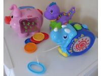 Fisher Price, Leap Frog & Little Tikes electronic baby toy bundle £10 for all collection Shepshed.