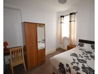 Double bed furnished rooms available to rent near city centre swansea