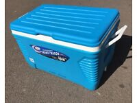 NEW LARGE WAGON Max Cold 62 Litre Large Size Camping Cool Box Cooler Chest