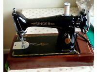 Electric Singer Sewing Machine 201K