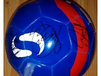 Signed football by Manchester City