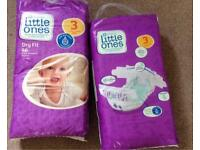 Nappies - 2 packs size 3