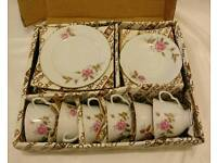 Tea sets, cake stands and tea stands