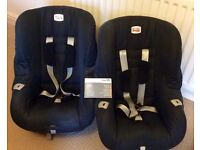 Two Britax Black Eclipse Group 1 Child Car Seats 9 months to 4yrs/9-18 kg RRP£80 each