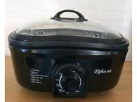 8 in 1 kitchen M8 slow cooker roast fry steamer sauté grill