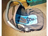 Hauck car seat for a newborn