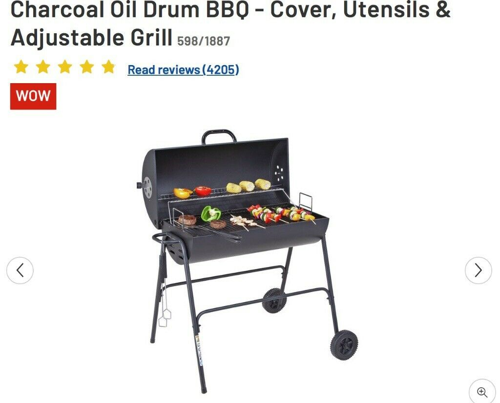 Barbecue With Cover And Utensils Original Rrp 50 From Argos In Milton Keynes Buckinghamshire Gumtree