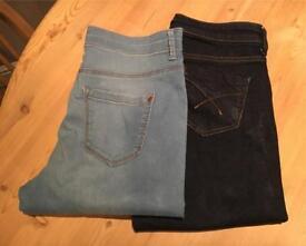 Topshop Maternity Jeans £10 each - excellent condition