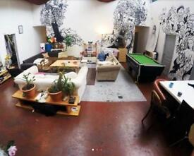 One month sublet in bright creative warehouse £550