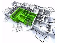 Building plans & Planning applications for Extensions, loft conversions, New builds