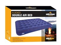 Milestone Camping Waterproof Unisex Outdoor Camping Air Bed & Electric Air Pump