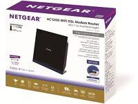 Netgear D6200-100UKS AC1200 Dual Band Wireless ADSL2+ WIFI DSL MODEM ROUTER