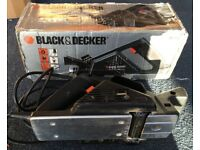 Black and Decker Electric Planer 400w