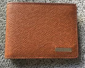 BRAND NEW Hugo Boss Brown Leather Wallet