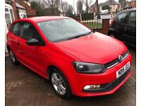 2015 Volkspwagen Polo 1.0 S Bluemotion 17,500 Miles FSH Long MOT £20 Tax (golf fiesta corsa ibiza
