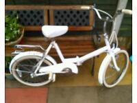 Vintage Raleigh fold up bike