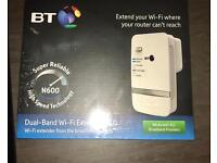 BT Dual band Wi-Fi extender NEW