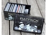 """Boxed set of 12 CDs """" The Ratpack"""""""