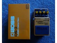 Boss Turbo Distortion Pedal